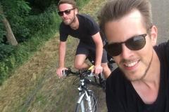 Die Fahrradrabauken Ruhrtalradweg