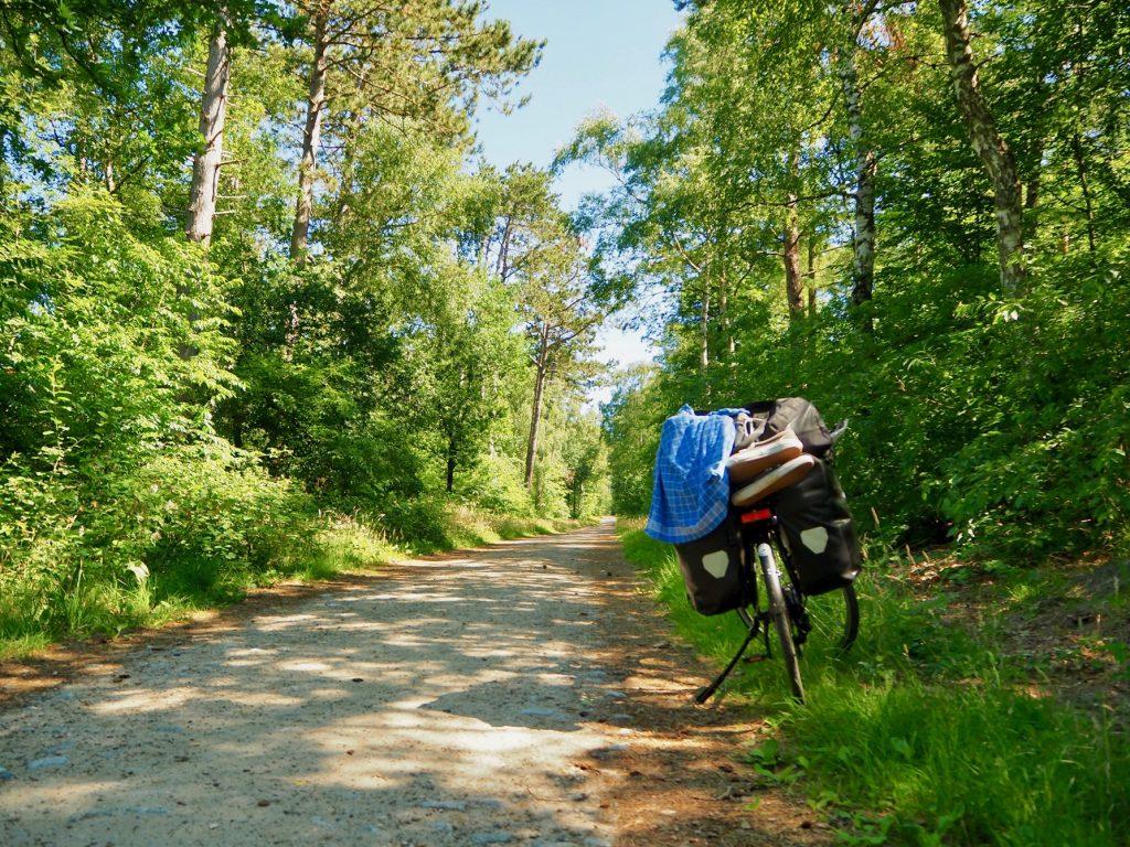 Campingurlaub mit dem Rad