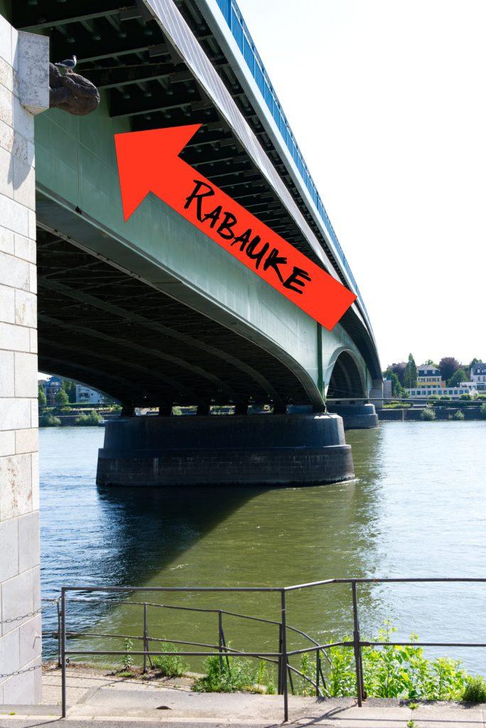 Brückenmännchen Bonn