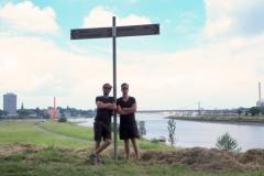 Ziel in Duisburg Ruhrtalradweg