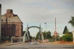 Neuss und Rheinradweg