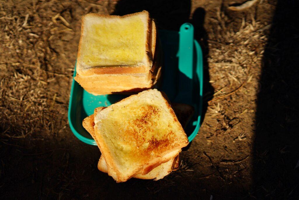 geröstete Toast